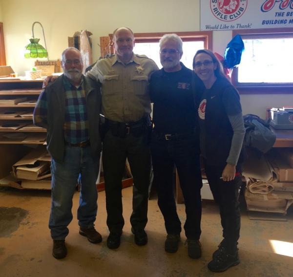 Members With Sheriff Ozzie
